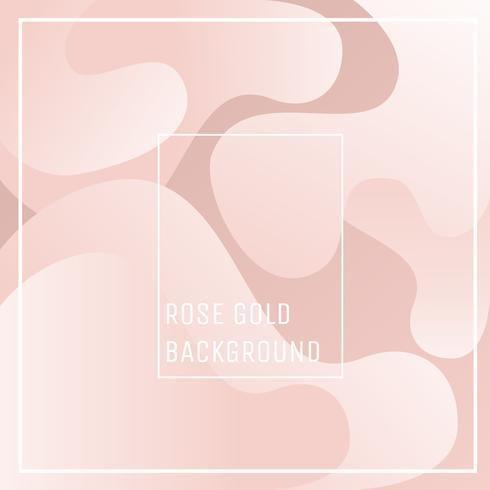 Vetor de fundo abstrato Rose Gold