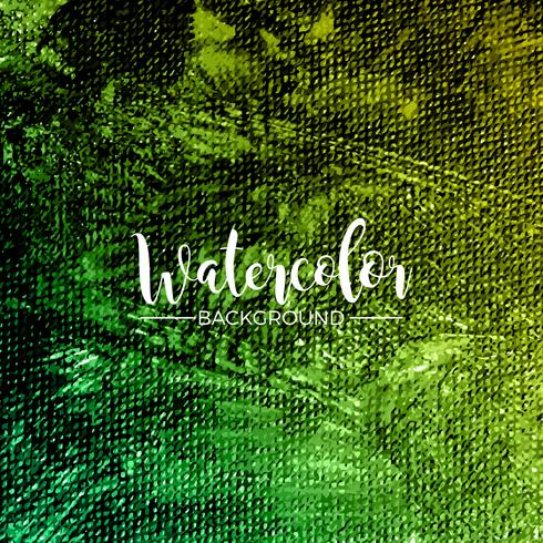 Abstract hand painted watercolor background texture vector