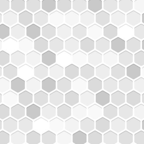 Fond blanc en nid d'abeille vecteur