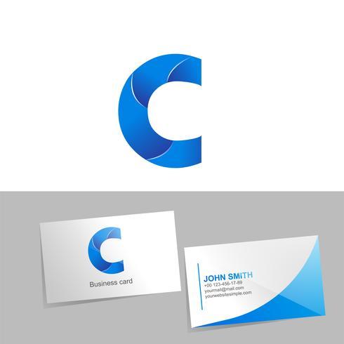 Verlaufslogo mit dem Buchstaben C des Logos