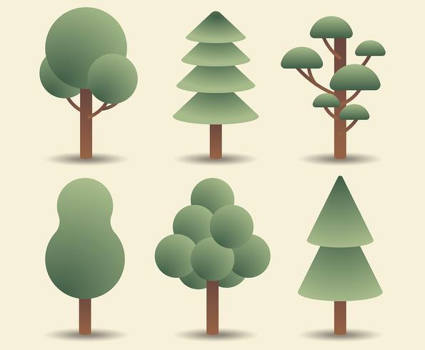 Tree Clipart Set