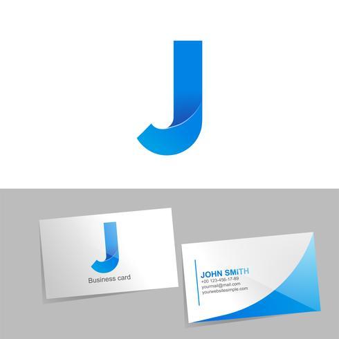 Logotipo de gradiente com a letra do logotipo