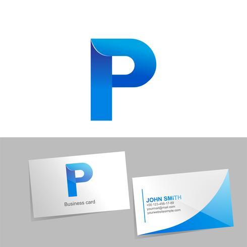 Gradient-logotypen med logotypens bokstav