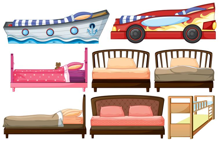 Différents modèles de lit