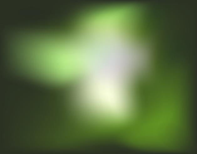 Eine grüne Unschärfetapete