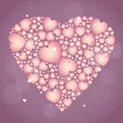 Vector l'illustrazione di San Valentino