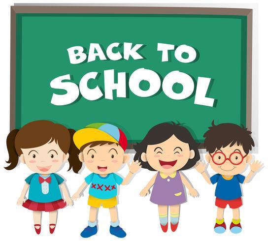 Ritorno al tema della scuola con ragazzi e ragazze