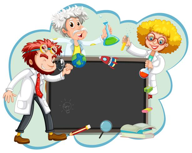 Três cientistas pelo conselho