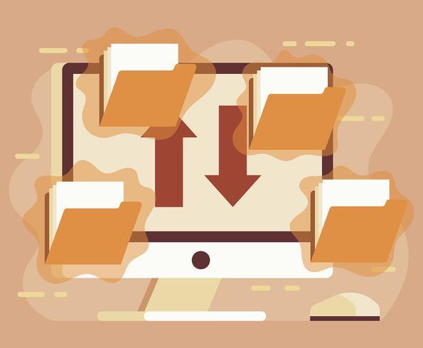 Illustration du fichier torrent