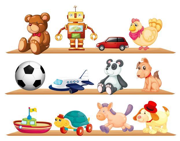 vari giocattoli