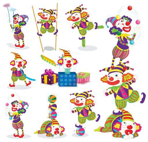 Joker verschiedene Aktivitäten