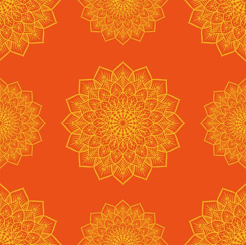 Kolam Onament patroon vector ontwerp