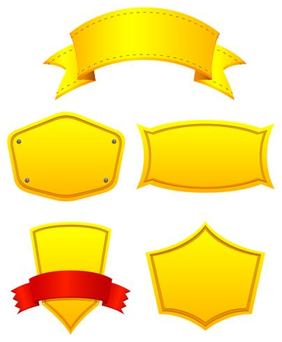Rótulos amarelos