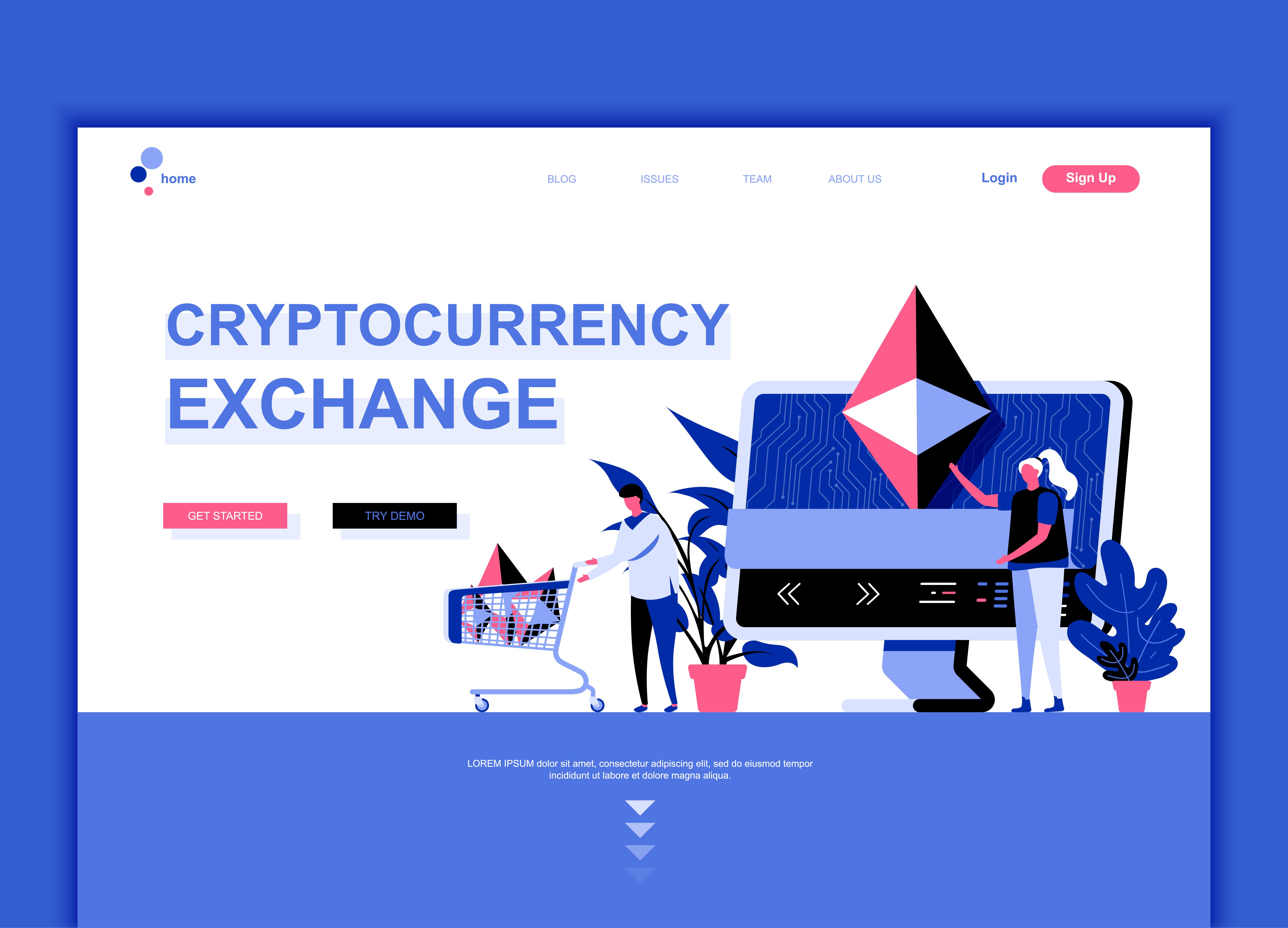 Cryptocurrency exchange trading group the modern investor