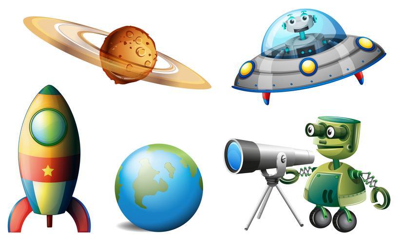 Raumschiffe und Roboter
