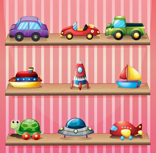 Eine Sammlung von Spielzeug