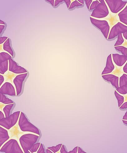 Plantilla de flor