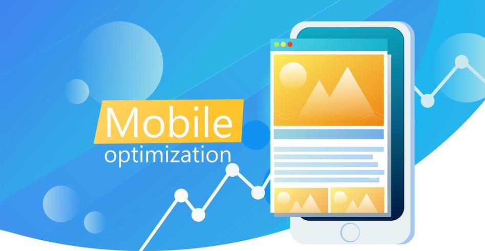 UI app ontwerp mobiele telefoon banner. Gebruikersinterface van App. Vector platte kleurovergang illustratie