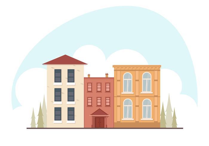 Vektor Cityscape illustration