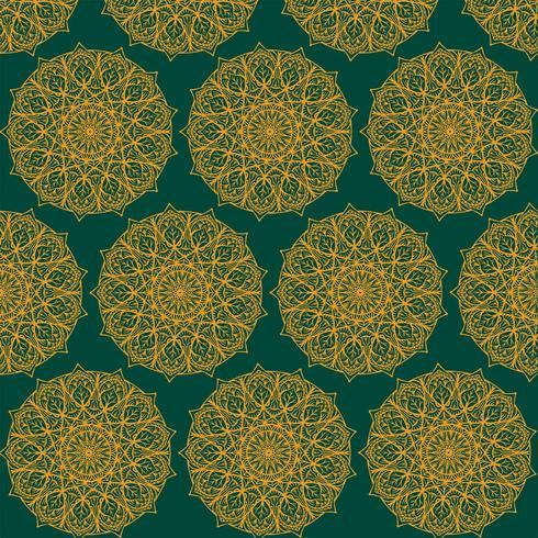 Kolam Ornamento Pttern Vector Design