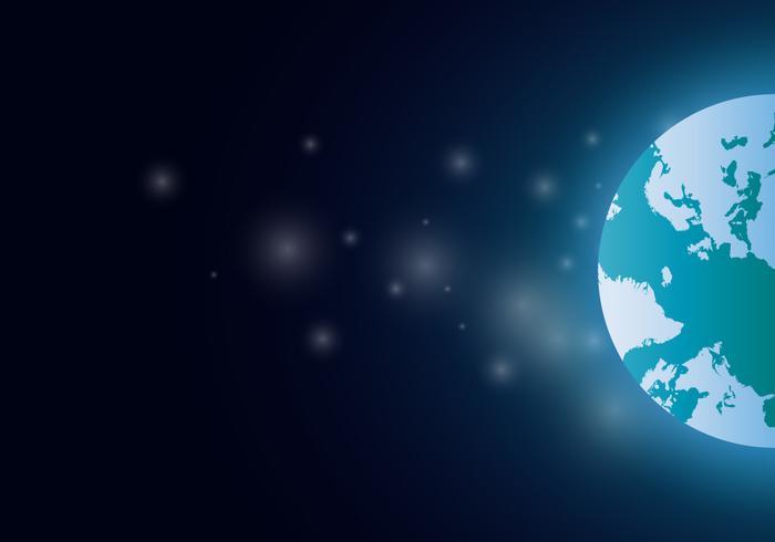 Internationale Karte des Globus 3D