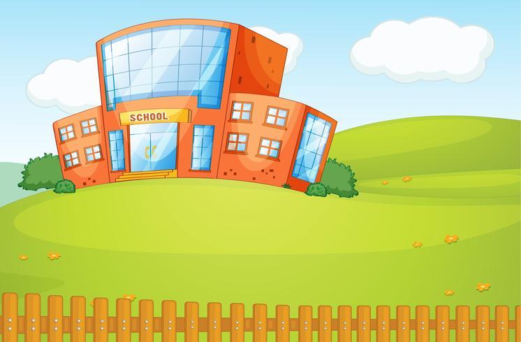 Een school