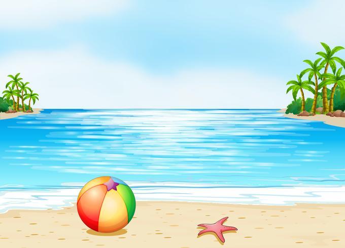 Een strand
