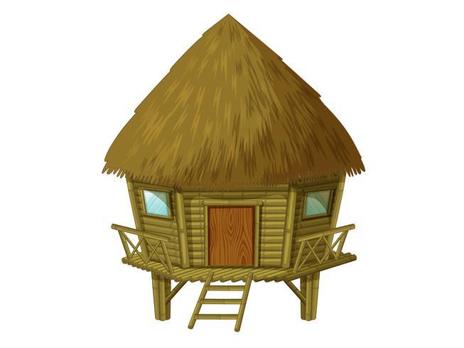 Geïsoleerde hut