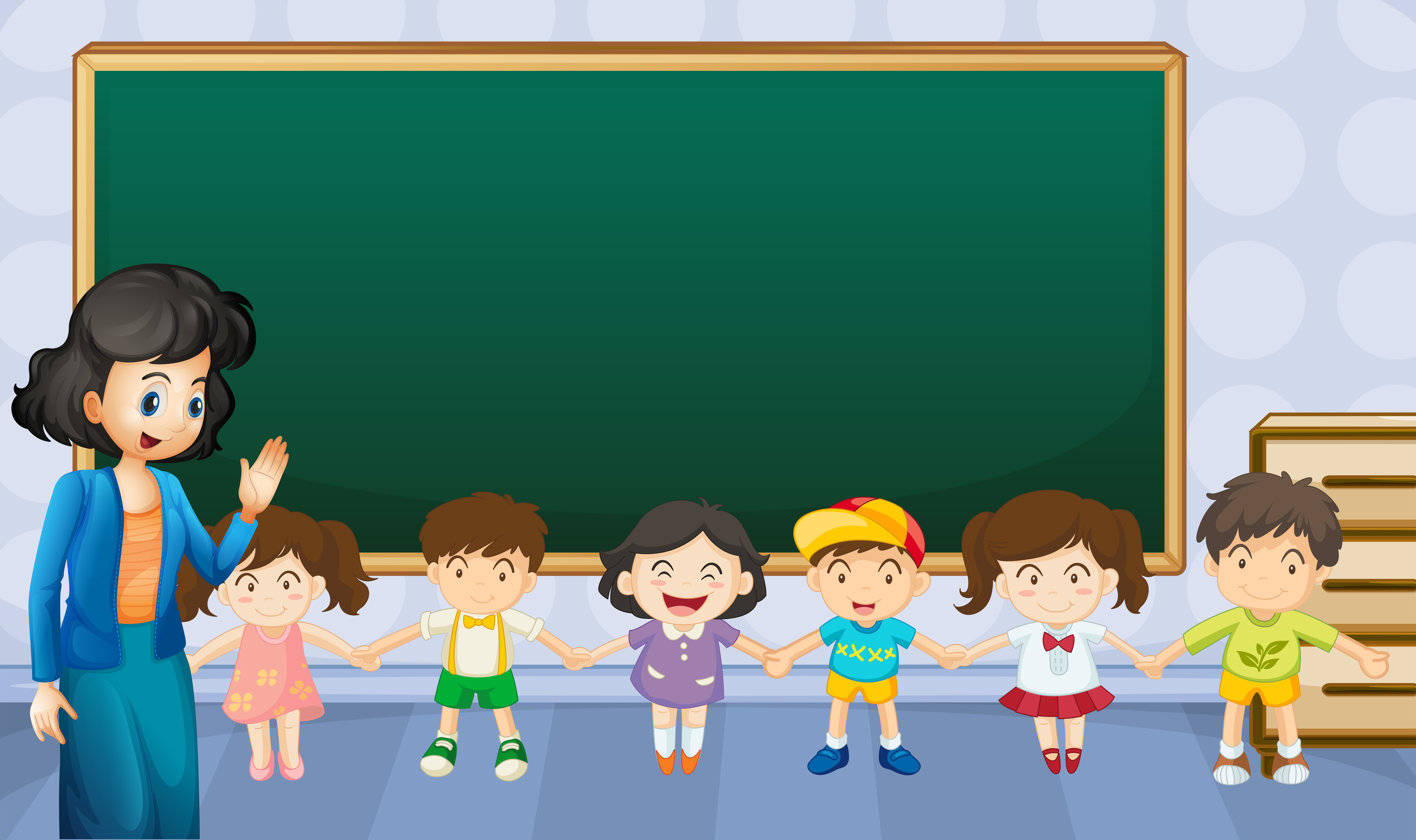 Teacher and students in the classroom - Download Free ... (6091 x 3613 Pixel)