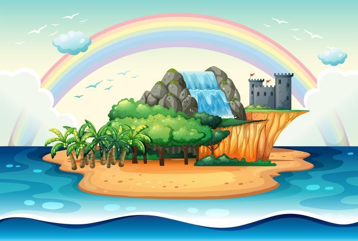 Insel vektor
