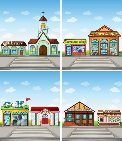 Geschäfte und Orte