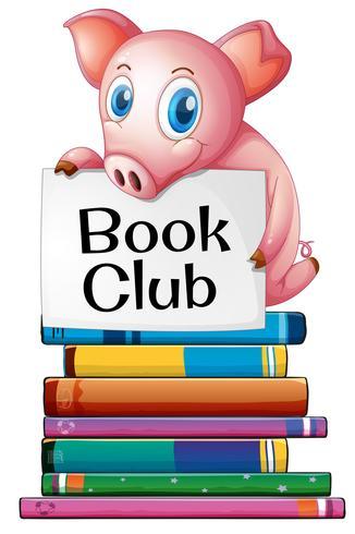 Cerdo y libros