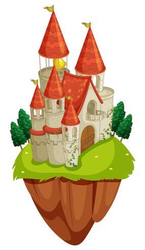 Plats med slottstorn