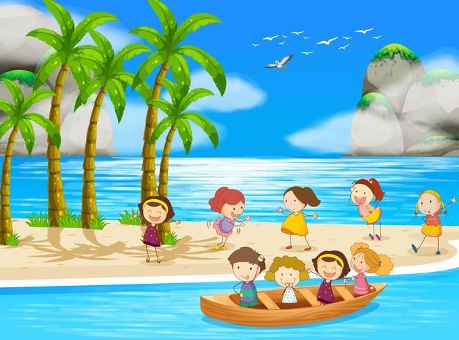 Bambini e spiaggia
