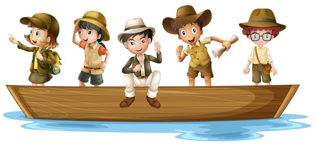 Jeunes explorateurs