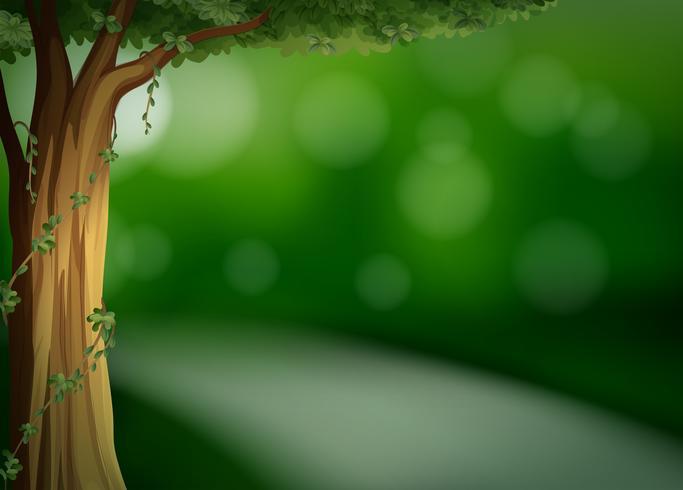 Un modello verde naturale