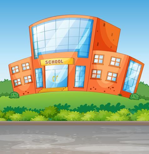 Un edificio scolastico