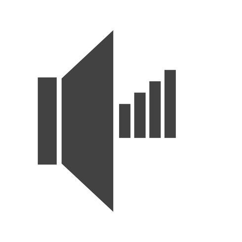 Icono de glifo negro vector