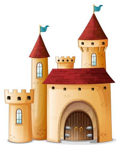 Ein wunderschöner Palast vektor