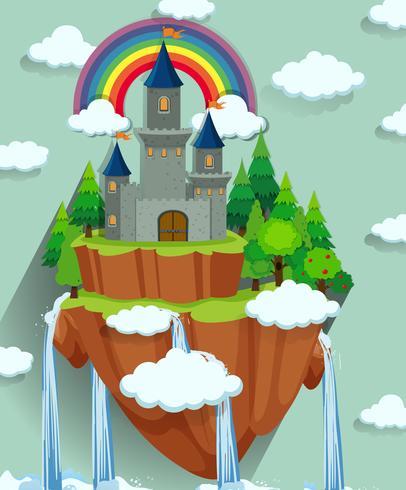 Tours de château sur l'île
