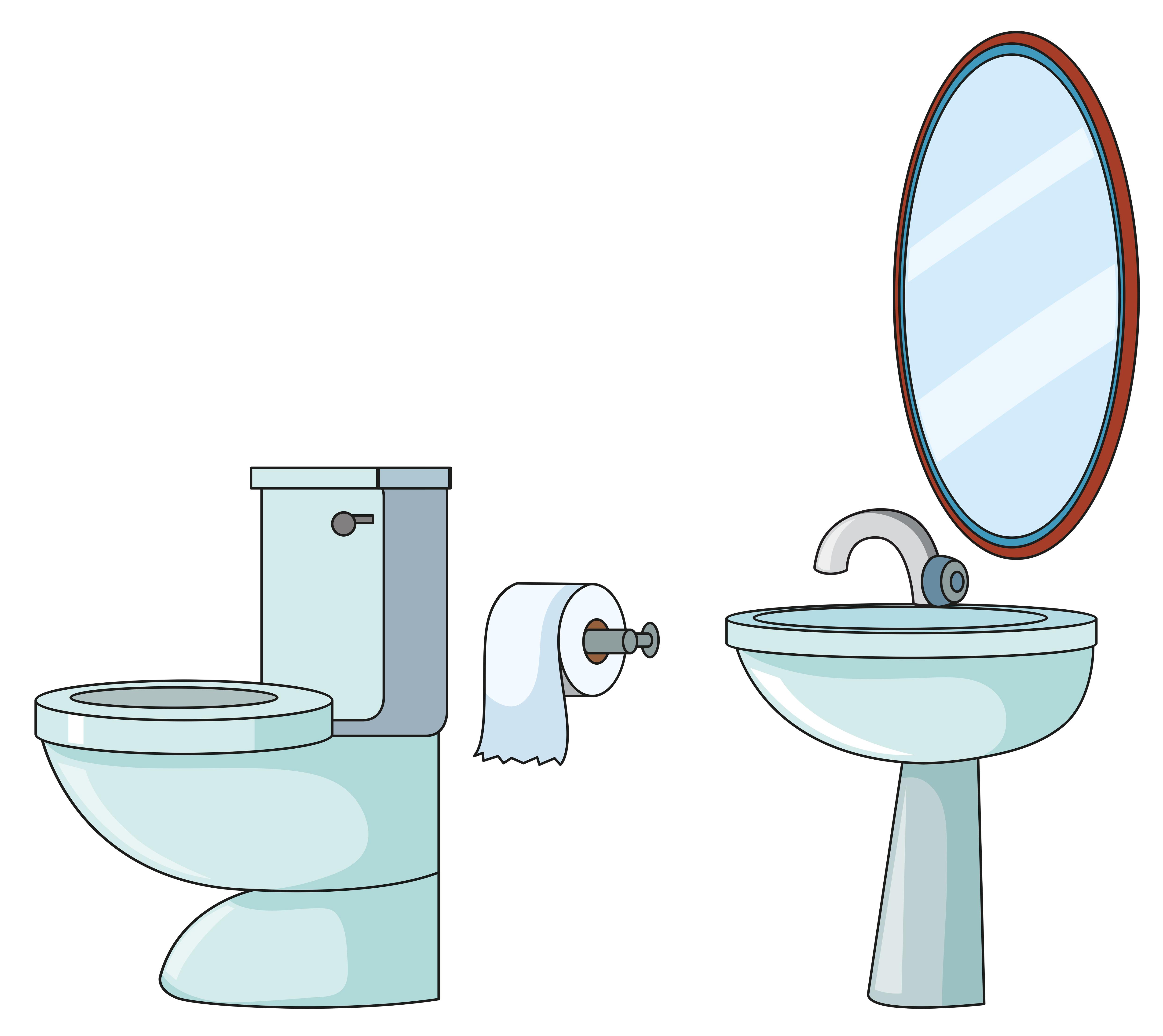 Toilets Free Vector Art 352 Free Downloads
