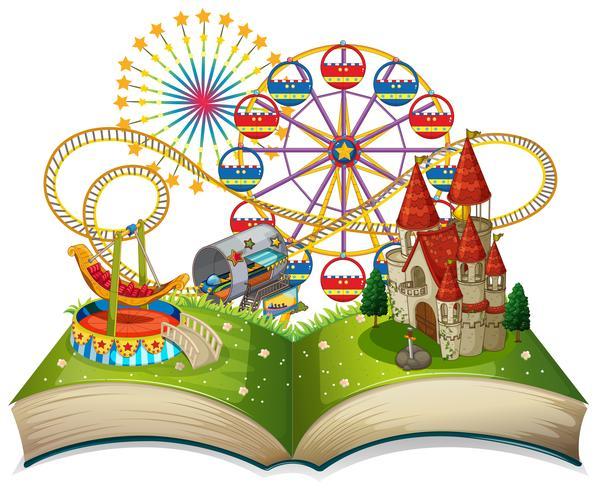 Open book funpark theme