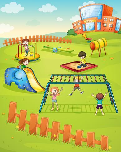 Kinder- und Affenbar