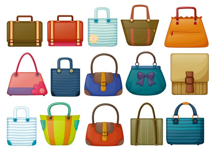 Olika väskor design