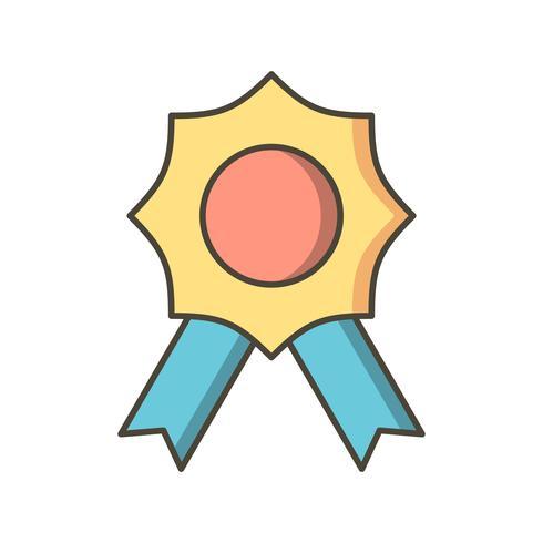 Icono de vector de premio