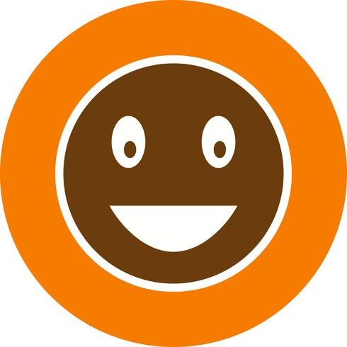 Laughing Emoji Vector Icon