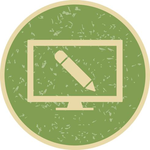 Online Education Vector Icon