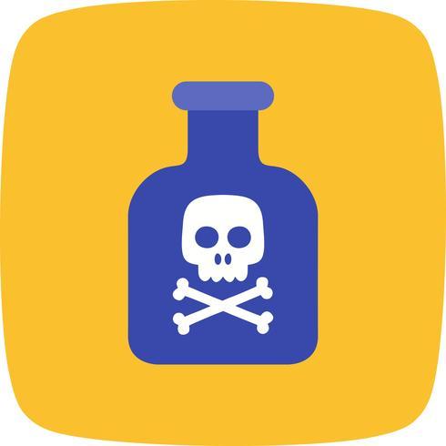 Icône de vecteur de produits chimiques
