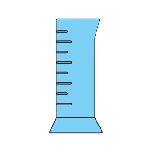Zylinderkolben-Vektor-Symbol