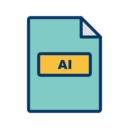 ai vector pictogram